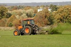 Trawy cuttibg Zdjęcie Stock