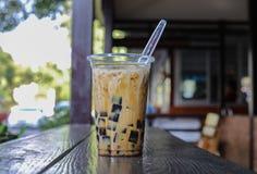 Trawy galarety mleko Zdjęcie Stock