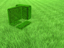 trawy komputerowa zieleń Zdjęcia Royalty Free