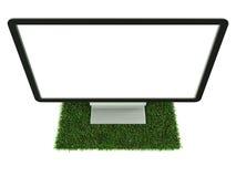 trawy monitoru odgórny widok Fotografia Stock