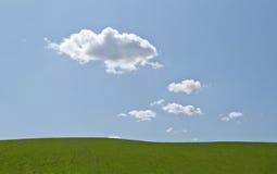 trawy niebo Zdjęcie Royalty Free
