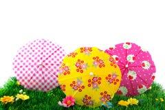 trawy parasols lato obrazy stock
