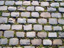 trawy tła kamień zdjęcia stock