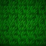 Trawy tekstura z warstwami podcieniowanie, trawiasty tło ilustracji