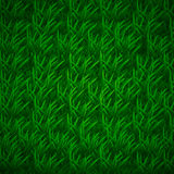 Trawy tekstura z warstwami podcieniowanie, trawiasty tło Fotografia Stock