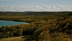 trawy wydmowy jezioro Fotografia Royalty Free