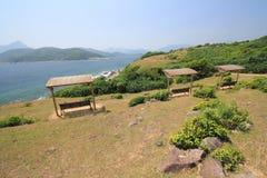 Trawy wyspa w Hong kong Obrazy Royalty Free