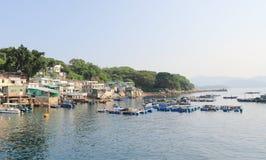 Trawy wyspa w Hong kong Fotografia Royalty Free