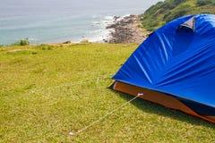Trawy wyspa w Hong Kong - Obozowy miejsce Obraz Royalty Free
