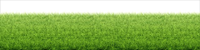 trawy zieleni gazon Granica od świeżego trawy pola zdjęcia stock