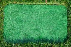 Trawy zielona rama Fotografia Stock
