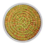 A tray of Baklava - Including clipping path Royalty Free Stock Photography