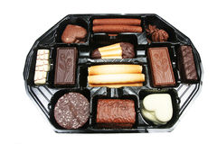 Tray of biscuits Stock Photography