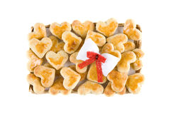 Tray of cookies Royalty Free Stock Photos