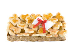 Tray of cookies Royalty Free Stock Image