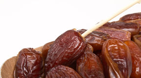Tray of dates Stock Images