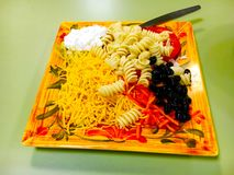 Tray Of Food Royalty Free Stock Image