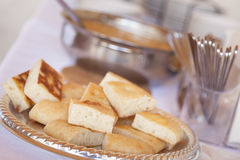 Tray of Fresh Made Italian Bread Stock Photos