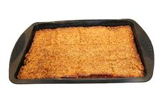 Freshly Baked Flapjack. A Tray of Freshly Baked Flapjack Cake Royalty Free Stock Images