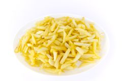 Tray of fries Stock Image