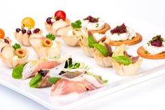 Free Tray Full Of Fresh Canapes Royalty Free Stock Photos - 3612138