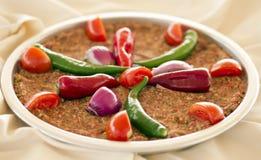 Tray Kebab Antakya Style Royalty-vrije Stock Afbeelding