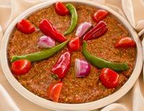 Tray Kebab Antakya Style Stockfoto