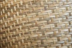 Tray made from Bamboo Royalty Free Stock Photos