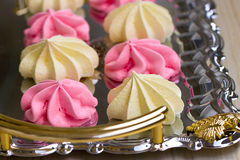 Tray of Meringues Royalty Free Stock Image