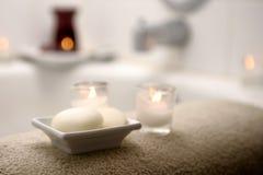 tray mydła zdjęcie royalty free