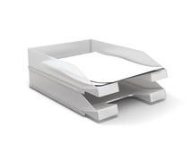tray papierowej Zdjęcie Stock