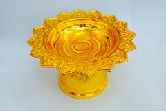 Tray with pedestal for mothers Stock Images
