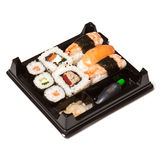Tray of sushi Stock Photo