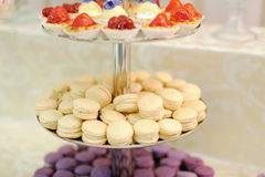 Tray with Sweets Royalty Free Stock Photography