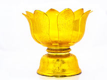 Tray With Pedestal In White Background Royalty Free Stock Photos