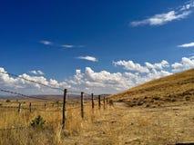 trayectoria de la cerca a la libertad foto de archivo