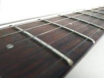 Trayectoria de la guitarra al ángulo Fotografía de archivo libre de regalías