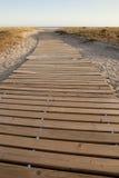 Trayectoria de la playa Fotos de archivo libres de regalías