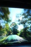 Trayectoria de la velocidad Foto de archivo libre de regalías