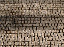 Trayectoria de piedra del adoquín Imagen de archivo