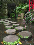 Trayectoria de piedras Foto de archivo libre de regalías