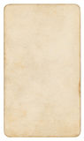 Trayectoria de recortes aislada papel del vintage incluida Fotografía de archivo