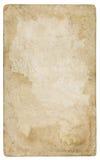 Trayectoria de recortes de papel del vintage incluida Imagenes de archivo