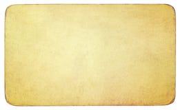 Trayectoria de recortes de papel del vintage incluida Fotos de archivo libres de regalías