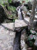 trayectoria del agua Foto de archivo libre de regalías