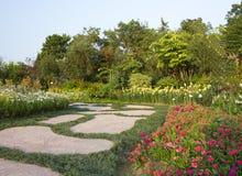Trayectoria del jardín Imagenes de archivo