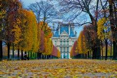 Trayectoria del Louvre Fotografía de archivo libre de regalías