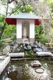 Trayectoria del paseo en el jardín japonés Fotos de archivo