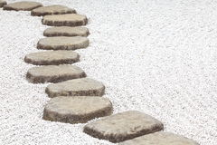 Trayectoria del ZEN Stone Imagen de archivo