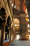 Trayectoria en la mezquita azul Imagen de archivo